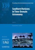 Cover of the book: Southern Horizons in Time­--Domain Astronomy (IAU S339)