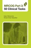 Cover of the book: MRCOG Part 3: 50 Clinical Tasks
