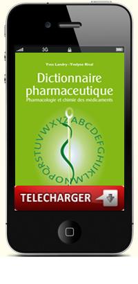 capture application Dictionnaire pharmaceutique sur iphone