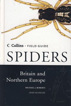 Couverture de l'ouvrage Collins field guide - Spiders of Britain and Northern Europe
