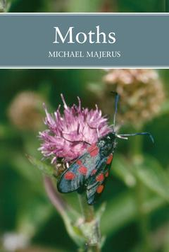 Cover of the book Moths (new naturalist) paperback
