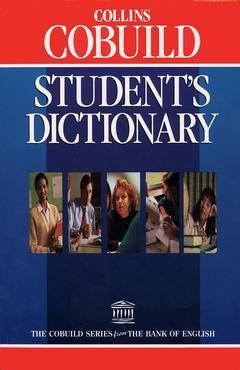 Couverture de l'ouvrage Collins cobuild student's dictionary
