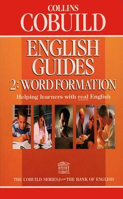 Cover of the book Collins cobuild english guide 2: word formation