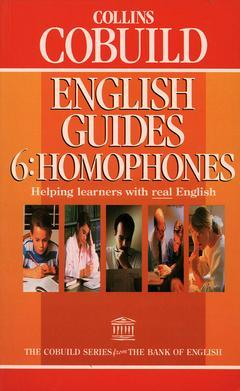 Cover of the book Collins cobuild english guides: homophones
