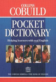 Couverture de l'ouvrage Collins cobuild pocket dictionary