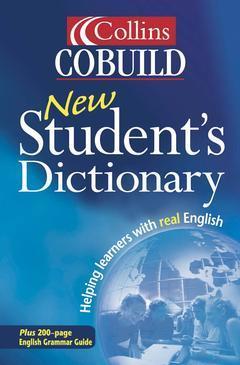 Couverture de l'ouvrage Collins cobuild new student's dictionary