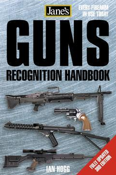 Couverture de l'ouvrage Jane's guns recognition Handbook