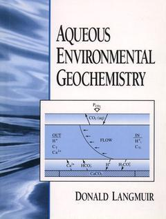 Couverture de l'ouvrage Aqueous environmental geochemistry