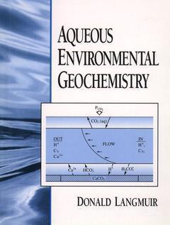Couverture de l'ouvrage Aqueous environmental geochemistry