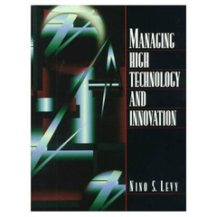 Couverture de l'ouvrage Managing high technology and innovation