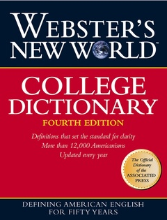 Couverture de l'ouvrage Webster's new world college dictionary, (4th Ed.1999, thumb indexed)
