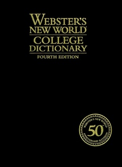 Couverture de l'ouvrage Webster's new world college dictionary, 4th ed. (Leatherkraft & thumb-indexed)