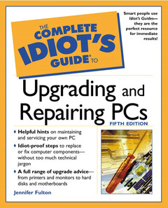 Couverture de l'ouvrage GIG to upgrading and repairing PCs (Book/CD) (5° Ed.)