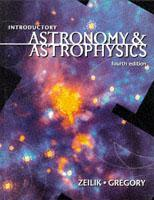 Couverture de l'ouvrage Introductory astronomy & astrophysics, 4th ed