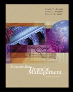 Couverture de l'ouvrage Intermediate financial management (6th ed' 99)