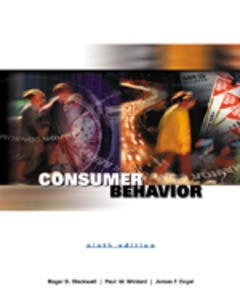 Couverture de l'ouvrage Consumer behavior, 9th ed.