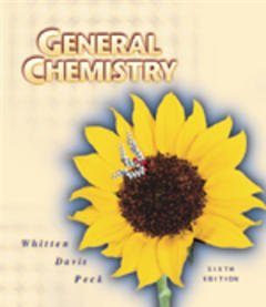 Cover of the book General chemistry, 6th ed 1999