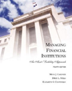 Couverture de l'ouvrage Managing financial institutions: an asset/liability approach