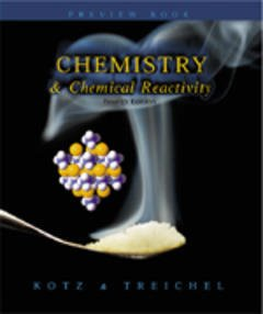 Cover of the book Chemistry and chemical reactivity (4th ed' 98)