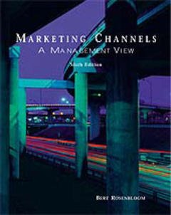 Couverture de l'ouvrage Marketing channels