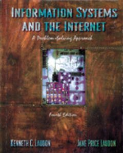 Cover of the book Information systems & the internet, 4th ed.
