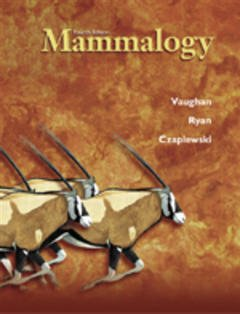 Cover of the book Mammalogy, 4th ed 2000