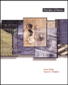 Cover of the book Principles of finance