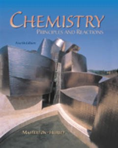 Cover of the book Chemistry: principles & reactions, 4th ed 2000
