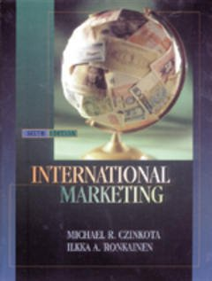 Cover of the book International marketing, 6th ed.