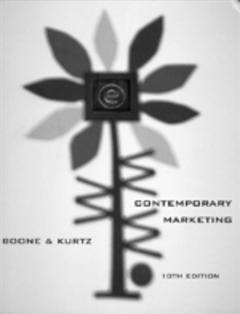 Cover of the book Contemporary marketing, 10th ed.