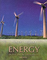Couverture de l'ouvrage Energy : its use and the environment 3° Ed.