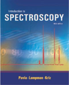 Cover of the book Introduction to Spectroscopy, 3rd ed.