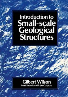 Couverture de l'ouvrage Introduction to small scale geological structures