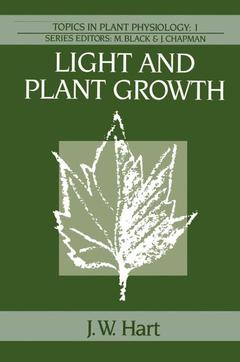 Cover of the book Light and plant growth (Topics in plant physiology 1 / Paper)