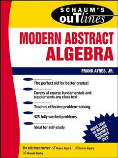 Cover of the book Modern abstract algebra (Schaum's outline series)