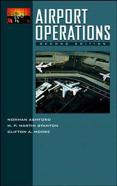 Couverture de l'ouvrage Airport operations (hardback)