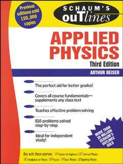 Cover of the book Schaum's outline of applied physics (inc. hundreds of solved problems) (3rd ed' 95)