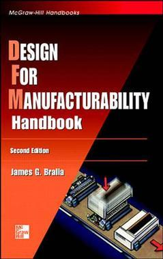 Couverture de l'ouvrage Design for manufacturability handbook, 2nd ed 1998