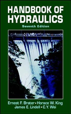 Couverture de l'ouvrage Handbook of Hydraulics, 7th Ed.