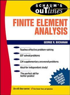 Cover of the book Finite element analysis (schaum)