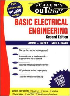 Cover of the book Schaum's outline of basic electrical engineering