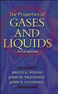 Couverture de l'ouvrage Properties of Gases and Liquids