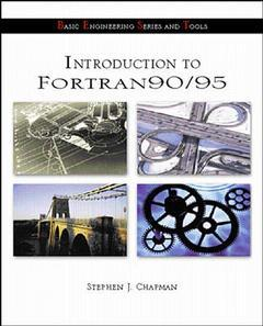 Cover of the book Fortran 90/95 for scientists and engineers (ISE)