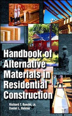 Couverture de l'ouvrage Handbook of alternative materials in residential construction
