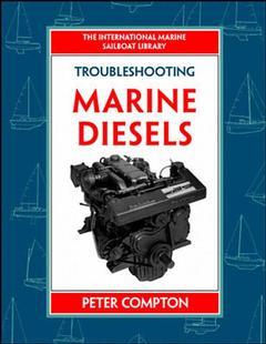 Cover of the book Sailboat diesel maintenance