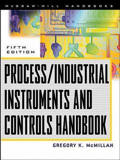 Couverture de l'ouvrage Process/industrial instruments and controld handbook, 5th Ed.