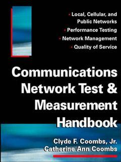 Cover of the book Communications network test and measurement handbook