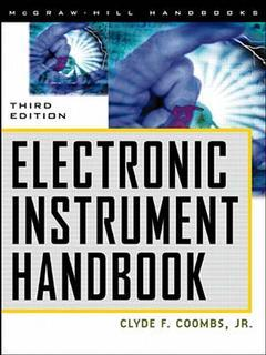 Cover of the book Electronic instrument handbook 3rd Ed. 1999