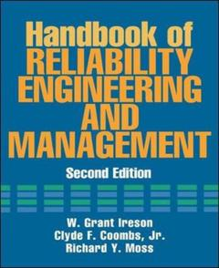 Couverture de l'ouvrage Handbook of reliability engineering and management (2nd ed' 95)