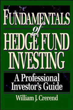 Cover of the book Fundamentals of hedge fund investing : a professional investor's guide